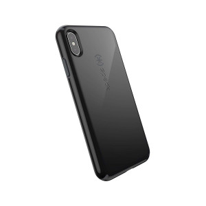 Speck Products CandyShell iPhone Xs Max Case, Black/Slate Grey
