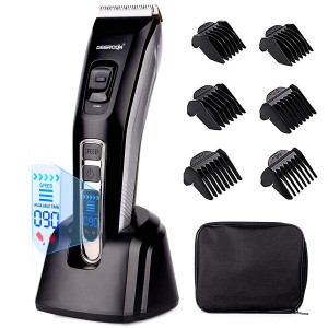 DEERCON Cordless/Cord Hair Clippers for Men Hair Trimmer Hair Cutting KIt Haircut Grooming Kit