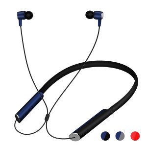 TIDTUO Bluetooth Neckband HeadphonesWireless Headphones in-Ear Bluetooth Earbuds with 14 Hours Playback Stereo Microphone Waterproof for All-Day Comfort Secure Fit and Safety for Sports Workout