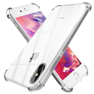 TGOOD Slim Grip iPhone Xs Phone Case, iPhone X Case 5.8 inch with Premium TPU Protection for Apple iPhone Xs 2018 Release/X 5.8'' 2017 Release - Transparent Clear