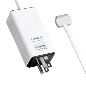 85W Charger for Apple MacBook Pro 15-inch T-tip Retina(Mid 2012 to Mid 2015), Replacement for Magsafe 2 Power Adapter