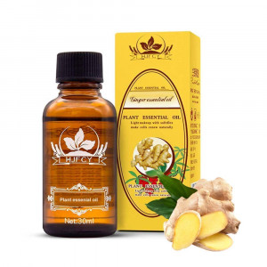 ESSENTIALS 2018 New Lymphatic Drainage Ginger Oil [ 100% Pure Natural ] (1.1 fl. oz.)