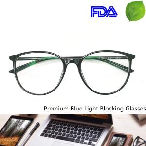 Reading Glasses - Blue Light Blocking - Round Women Men