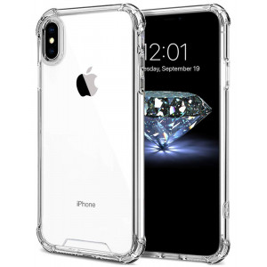 iPhone XS Max Case, Protective Hard PC iPhone Xs Max Cover [Ultra Lightweight] Anti-Scratch Reinforced Corner Protection Bumper Case for iPhone XS Max 2018 - Crystal Clear