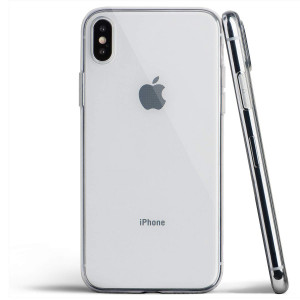 Clear iPhone Xs Max Case, Thin Soft Cover Slim Flexible TPU - for Apple iPhone Xs Max (2018) - totallee (Transparent)