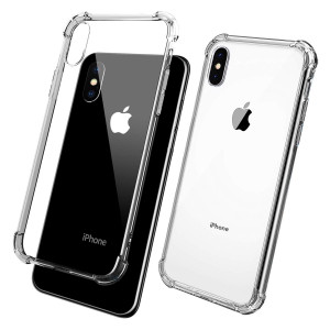 """ANEVV Case Compatible with iPhone Xs Max Case 2018 (6.5"""") with Corner Bumper Protection, TPU Enhanced Drop Protection (Clear)"""