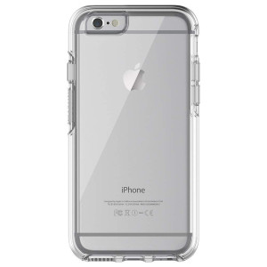 "OtterBox Symmetry Clear Series Case for iPhone 6/6s (4.7"" Version) - Bulk Packaging - Clear (Clear/Clear)"