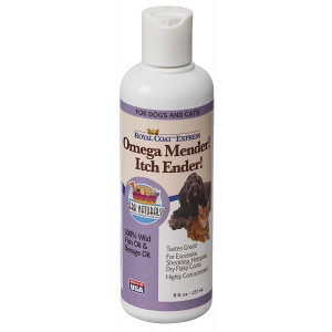 Ark Naturals Omega Mender! Itch Ender! Omega-6 and Omega-3 Dietary Supplement for Dogs and Cats, Relieves Itching, Reduces Shedding, Hot Spot Treatment