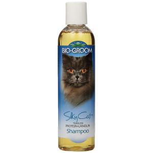 Bio-groom Silky Cat Protein and Lanolin Shampoo, 8-Ounce