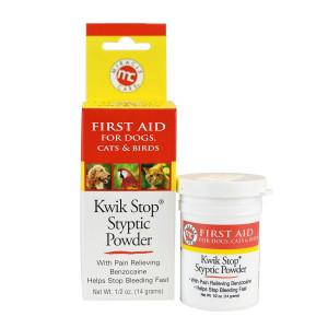 Miracle Care Kwik Stop Styptic Powder, 0.5 Oz