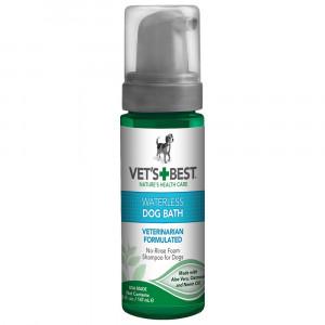Vet's Best Waterless Dog Bath | Shampoo for Dogs | No-rinse Foaming Formula | 5 oz