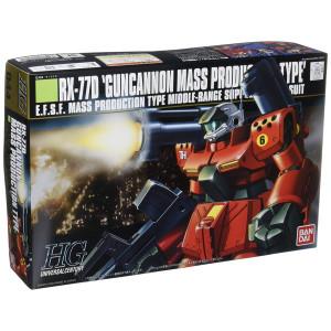 Gundam RX-77D Gun Cannon Mass Production Type HGUC 1/144 Scale