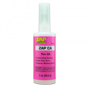 Pacer Technology (Zap) Zap CA Adhesives, 2 oz
