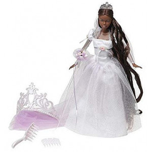 Barbie Princess - Rapunzel's Wedding - African American Rapunzel Wedding Doll