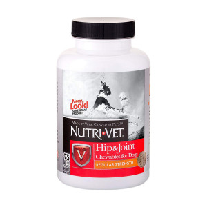 Nutri-Vet Hip and Joint Regular Strength Chewables for Dogs