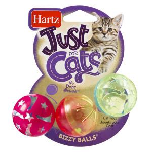 Hartz Just for Cats Bizzy Balls Cat Toy