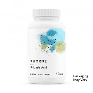 Thorne Research - R-Lipoic Acid - Alpha-Lipoic Acid (ALA) for Antioxidant Support - 60 Capsules