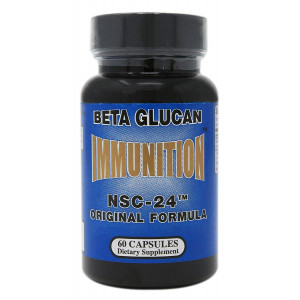 Nutritional Supply Corp Beta Glucan Immunition NSC-24-60 Capsules