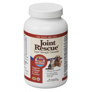 Ark Naturals Joint Rescue Super Strength Chews for All Dog Breeds, Vet Recommended to Support Cartilage and Joint Function, Eliminate Joint Discomfort, Turmeric, Chondroitin and Glucosamine