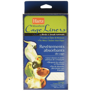 Hartz Absorbent Cage Liners for Birds and Small Animals