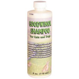 Goodwinol Shampoo for Cats/Dogs, 8 oz.