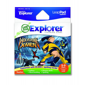 LeapFrog Explorer Learning Game: Wolverine and the X-Men (works with LeapPad and Leapster Explorer)