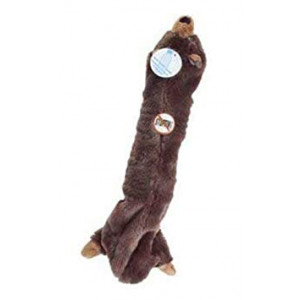 Ethical Skinneeez Big Bite Bear Assorted Stuffingless Dog Toy