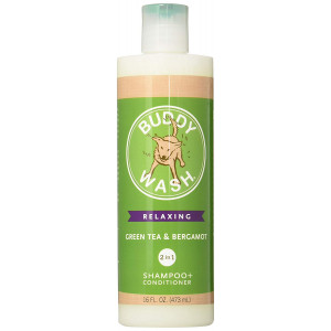 Cloud Star Buddy Wash Dog Shampoo and Conditioner, 16oz, Green Tea and Bergamot