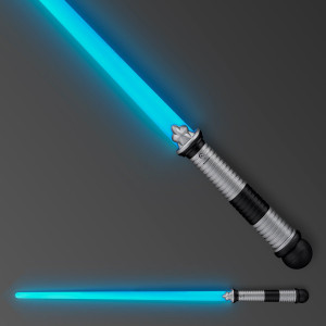Blue LED Light Up Saber Space Weapons (3-Pack)