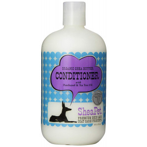EARTHBATH 026503 Shea Butter Cond withTea Tree Oil and Panthenol conditioner for Dogs, 18-Ounce