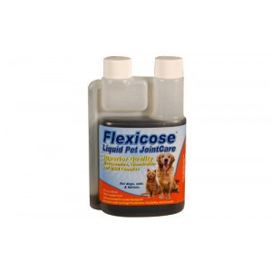 Pet Flexicose All Natural Joint Support 3 Bottles Liquid Format