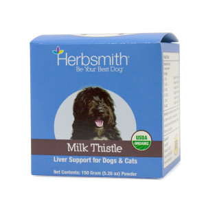 Herbsmith Organic Milk Thistle for Dogs and Cats