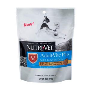 Nutri-Vet Wellness Adult-Vite Plus Soft Chews