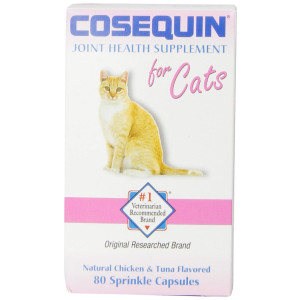 Cosequin Tablet for cats, 80 Count, 2-Pack