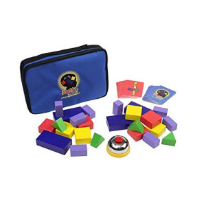 Blocks Rock! A STEM Toy and Educational Game for Competitive Structured Block Play, Ages 4+