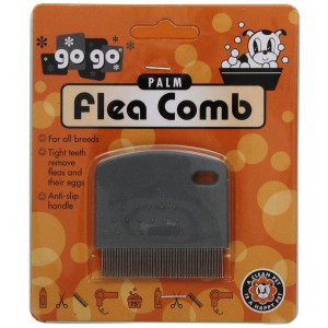 GoGo Pet Products Palm Flea Pet Grooming Comb
