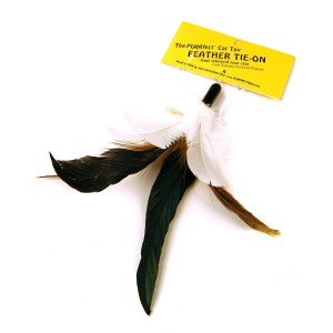 PURRfect Cat Toys Feather Tie-On