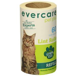 "Evercare Pet Hair Lint Roller Refills 6PACK (30.1 ft x 4"" ea)"