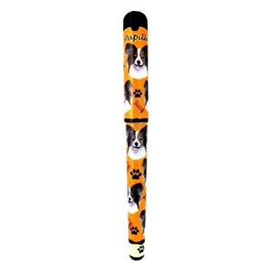 EandS Pets Papillion Pen Easy Glide Gel Pen, Refillable With A Perfect Grip, Great For Everyday Use, Perfect Papillion Gifts For Any Occasion
