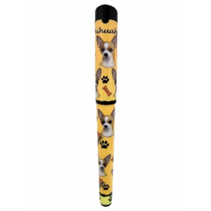 EandS Pets Chihuahua Pen Easy Glide Gel Pen, Refillable With A Perfect Grip, Great For Everyday Use, Perfect Chihuahua Gifts For Any Occasion