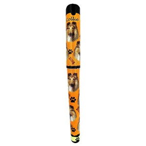 EandS Pets Collie Pen Easy Glide Gel Pen, Refillable With A Perfect Grip, Great For Everyday Use, Perfect Collie Gifts For Any Occasion