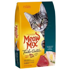 Meow Mix Tender Centers, 3-Pound, Tuna and Whitefish