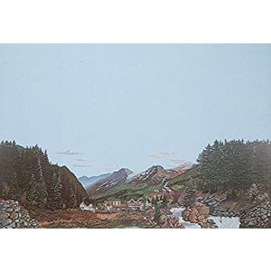 Walthers, Inc. Instant Horizons Sierra Boomtown Background Scene, 24 X 36 60 x 90cm, Gold Rush