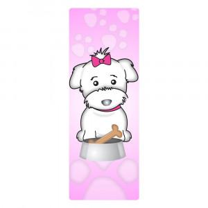 Love Your Breed Bookmark, Maltese Girl
