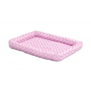 MidWest Deluxe Bolster Pet Bed for Dogs and Cats