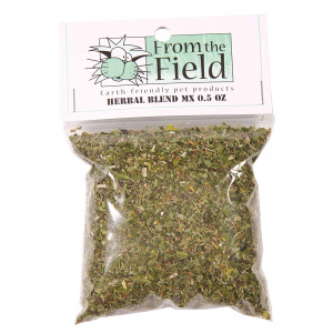 From The Field Herbal Blend MX Catnip and Valerian Root Bag
