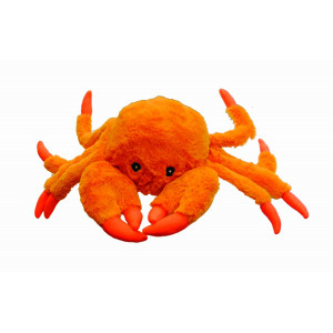 Jolly Pets Tug-a-Mal Crab   Squeaky Tug Toy for Dogs