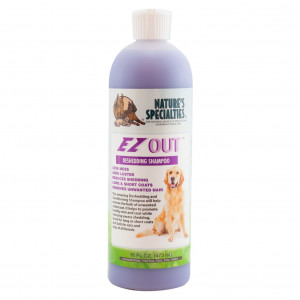 Nature's Specialties EZ Out Detangling Pet Shampoo, 16-Ounce