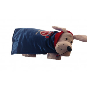 Super Dog Costume - Blue Velvet Cape Size Small 5 - 15 lbs by Target