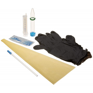 Next Generation Canine Collection Kit with Latex Collection Cone for Dogs